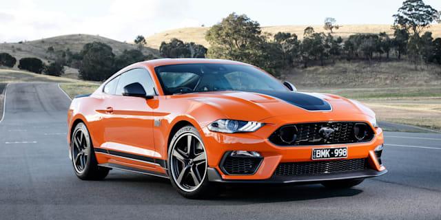 2021 Ford Mustang Mach 1发布审查