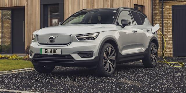 2022年沃尔沃XC40充电纯电动汽车价格和规格:76,990美元,不包括新电动SUV上路成本