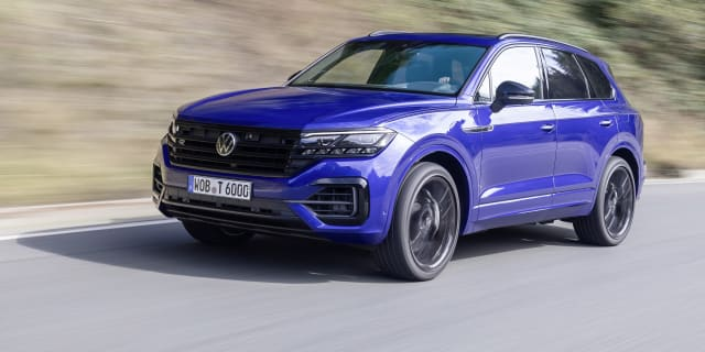 2021 Volkswagen Touareg R review