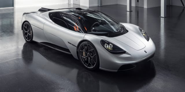 GMA T.50: Gordon Murray's new three-seater supercar unveiled