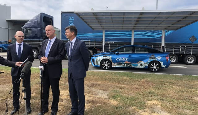 Toyota Australia announces multi-million dollar hydrogen filling station at Altona