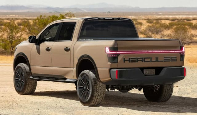 Hercules Alpha: The 750kW electric Nissan pick-up