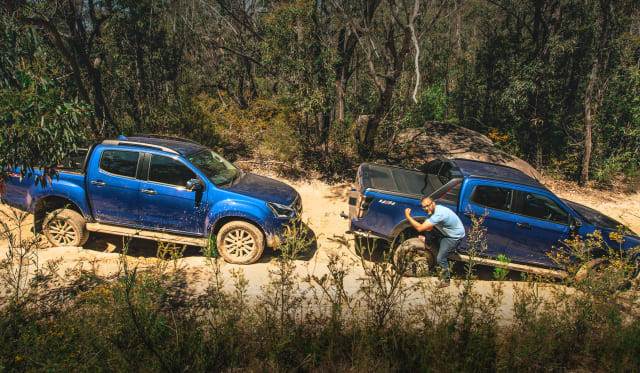 Video: Isuzu D-Max Old vs New
