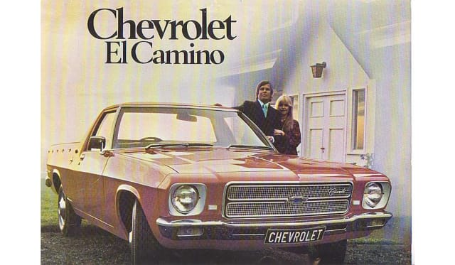 The Holden El Camino?
