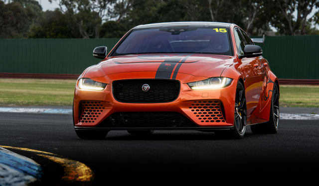 56a0a8585024 2019 Jaguar XE Project 8 review  Track test
