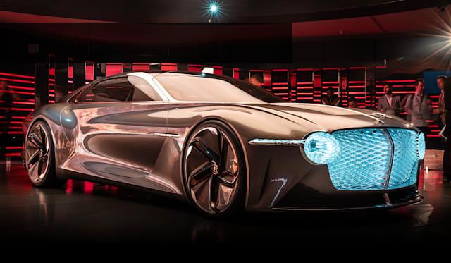 Bentley EXP 100 GT reveal walkaround with Stefan Sielaff
