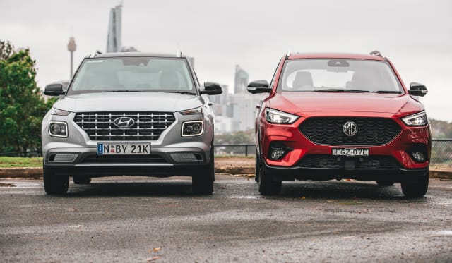 Small SUV test: 2020 Hyundai Venue v MG ZST comparison
