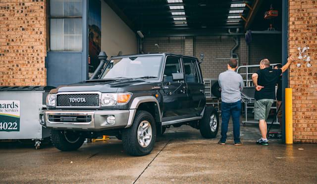 Buying and modifying a Toyota LandCruiser 79 Series