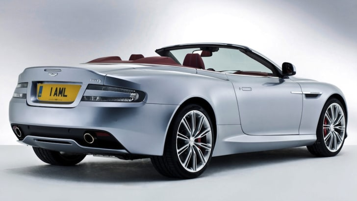 2013 Aston Martin DB9 Volante - Rear Side
