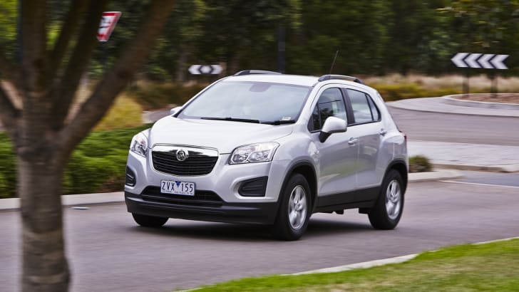 Holden Trax 16