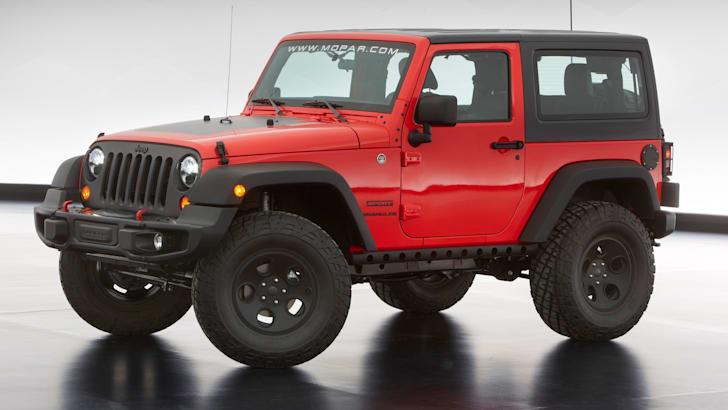 Jeep Wrangler Slim - 1