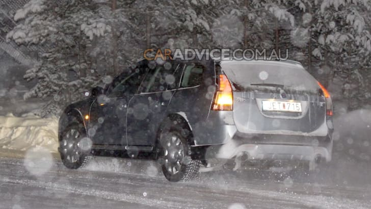 2009 Saab 9-3X off-road wagon spied