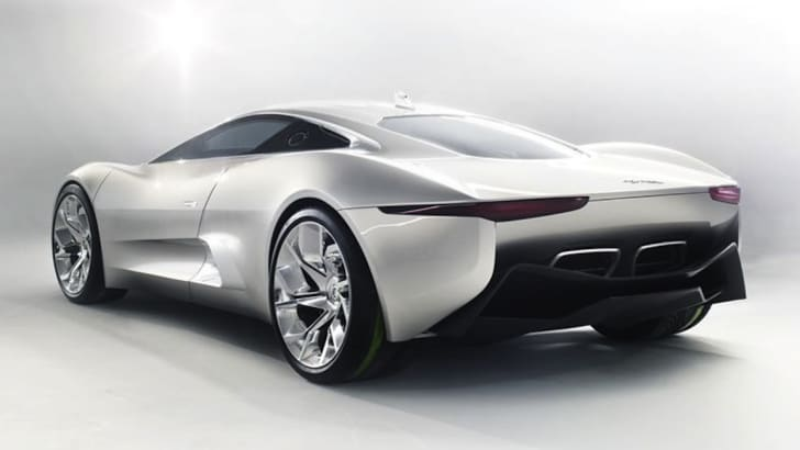 Jaguar C-X75 Concept - Rear