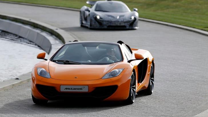 McLaren P1 with Jenson Button - 3