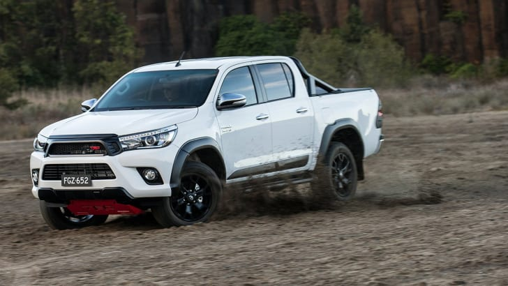 2017 Toyota HiLux with TRD accessories