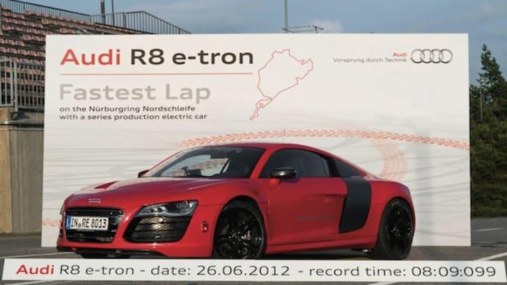 Audi R8 e-tron - Nurburgring Time