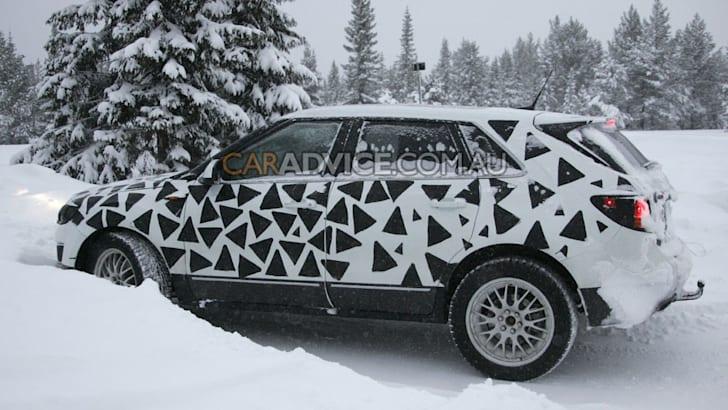 2010 Saab 9-4X CUV spied