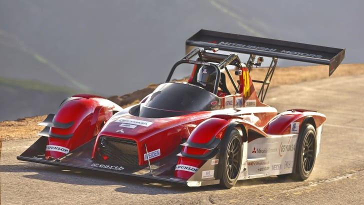 Mitsubishi MiEV Evolution III on Pikes Peak