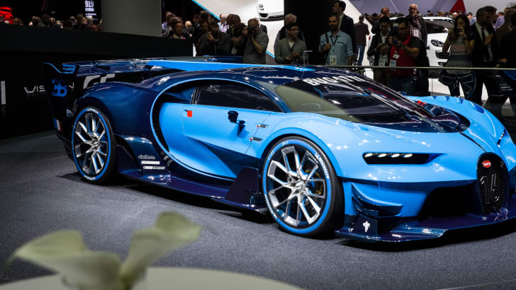 Bugatti GT Concept - 2015 IAA September 17 - 27, 2015, Frankfurt, Germany