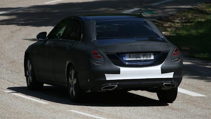 2014 Mercedes-Benz C-Class spied 2