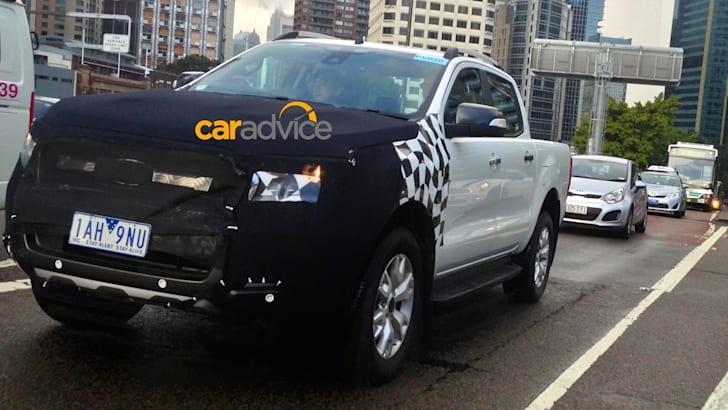 2015 Ford Ranger spied in Sydney3