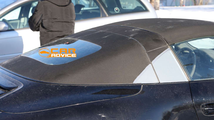 Porsche 911 Targa Spied - 9