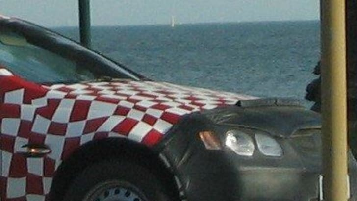 2007 Holden Commodore VE Utility Spy Shot