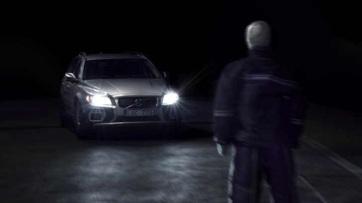25 Pedestrian Detection in darkness