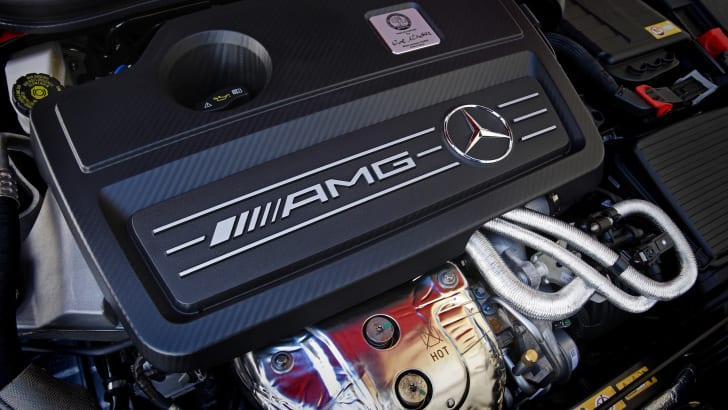 Mercedes-Benz engine