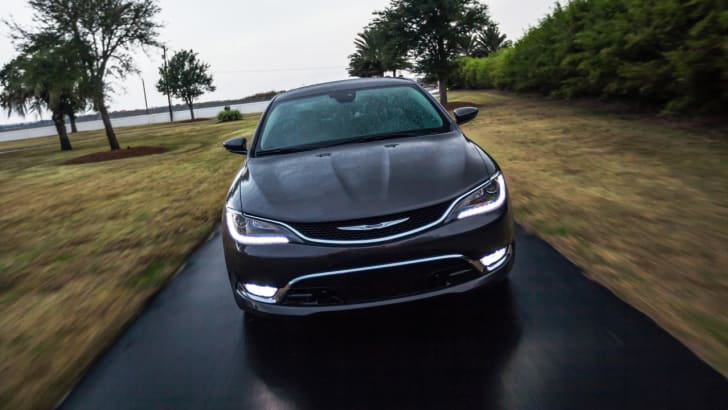 Chrysler 200 front on