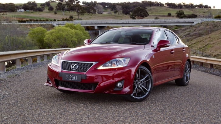 Lexus IS 350 F Sport model