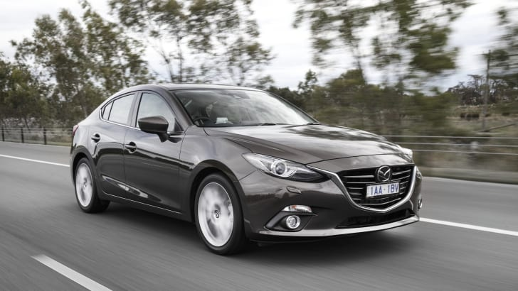 2014 Mazda 3 Sedan - Driving 3