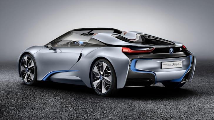 BMW i8 Spyder static rear