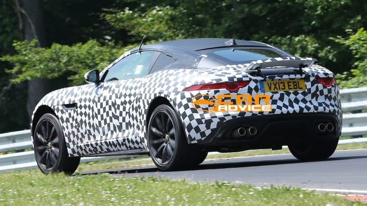 Jaguar F-Type Coupe Spied - 9