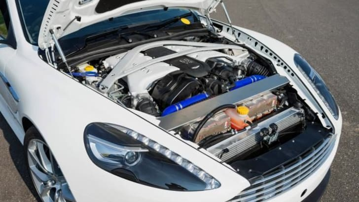 Aston martin DB9 plug-in hybrid2