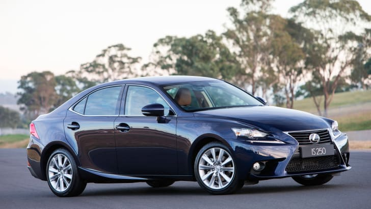 2013 Lexus IS 250 Luxury (pre-production model shown)