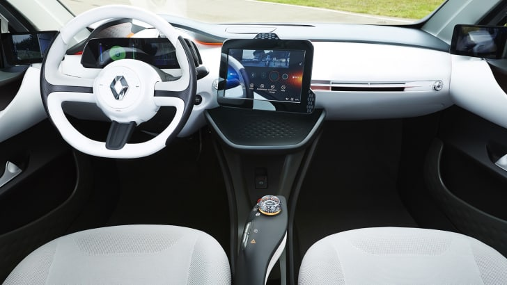 Renault Eolab concept car - dashboard