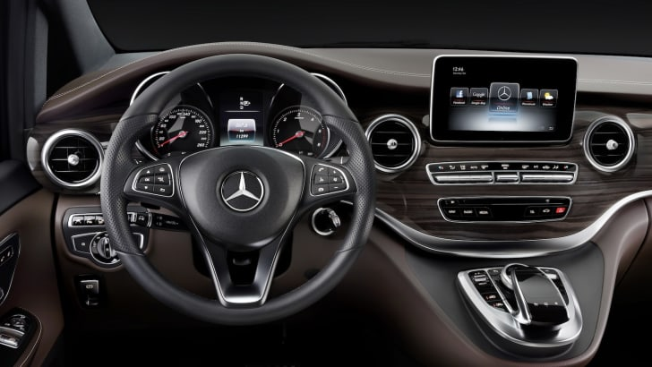 The new Mercedes-Benz V-Class – Interior, Cockpit, TecDays 201