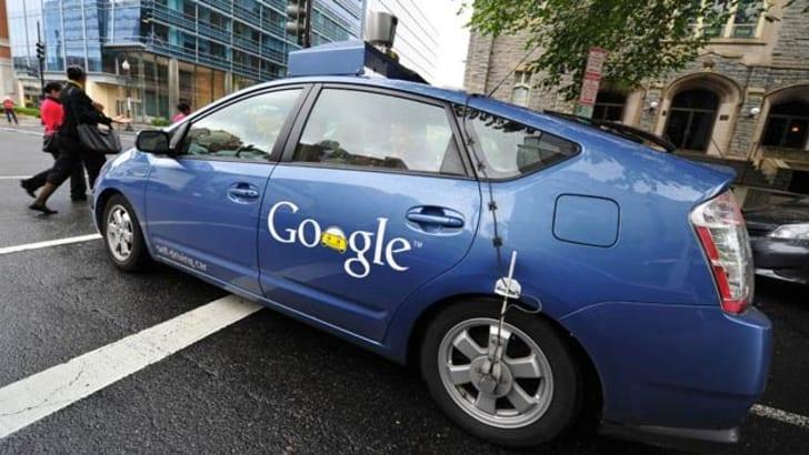 Google Autonomous Prius - 1