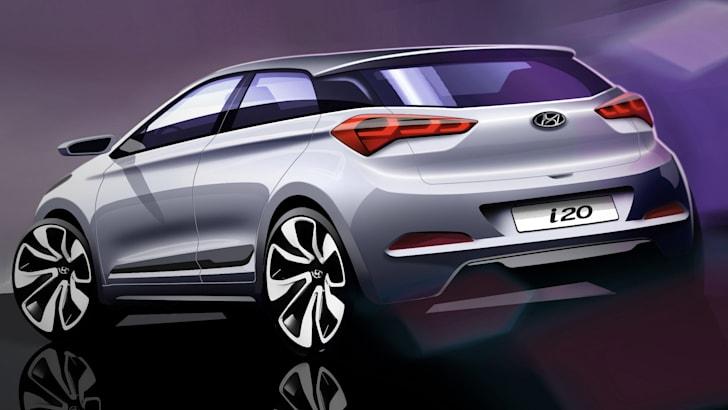 Hyundai i20 sketch 2