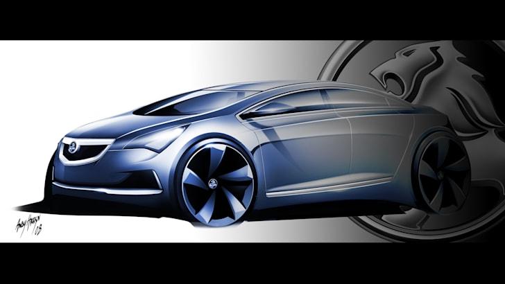 GM Holden's small car conceptual design