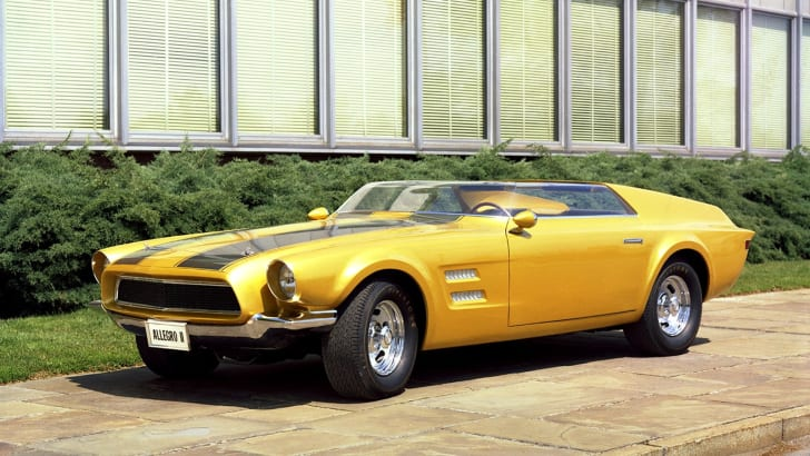 Ford Mustangs That Never Were: 1967 Allegro II concept