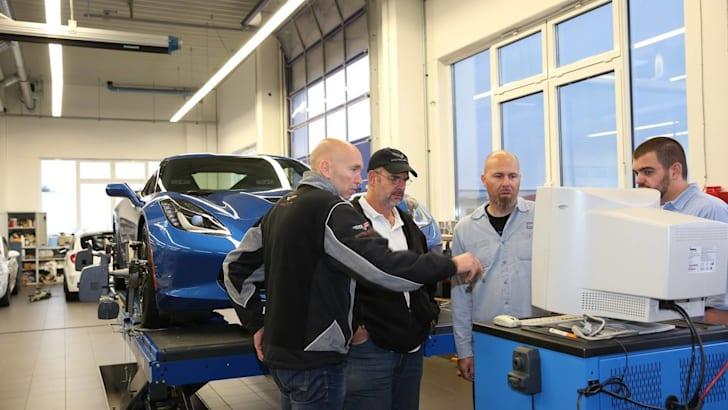 Chevrolet Corvette Nurburgring Testing - 3
