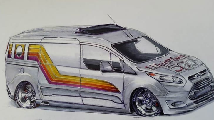 This Shagadelic Ford Transit Is Retro-Cool