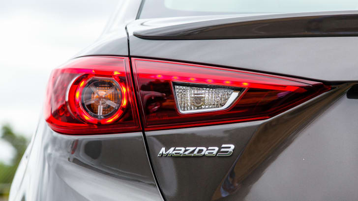 2014 Mazda 3 Sedan - Rear Badge