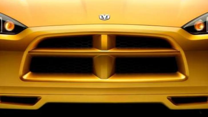 Dodge Demon Concept Front Grill