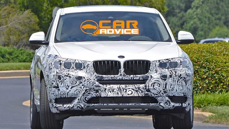 BMW X4 spied - 1