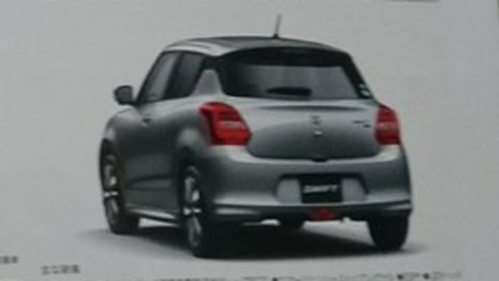 suzuki-swift-japanese-brochure-leak-rear