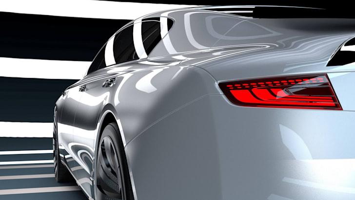 Qoros 9 Sedan Concept shoulder