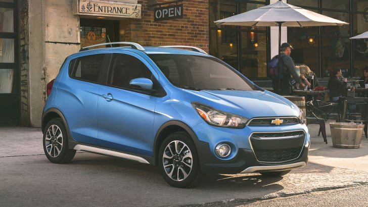 The 2017 Chevrolet Spark ACTIV is a sportier take on the brand